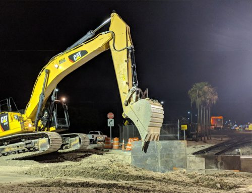 42-INCH DIP WATER MAIN AND 10-INCH FORCE MAIN AT PORT OF MIAMI